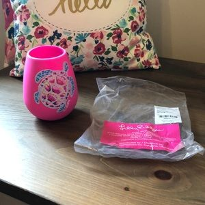 Lilly Pulitzer Wine Glass GWP NWT